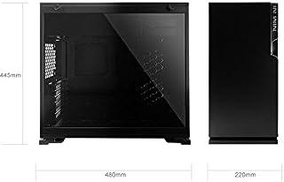 In Win 101C Midi-Tower Negro - Caja de Ordenador (Midi-Tower, PC, Acrilonitrilo butadieno estireno (ABS), SECC, Vidrio Templado, Negro, ATX,Micro ATX,Mini-ITX, Multi)