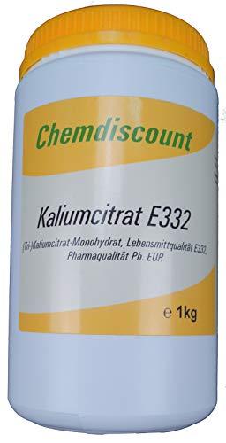 1kg Kaliumcitrat Pharmaqualität Lebensmittelqualität E332