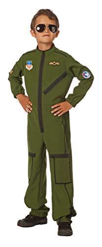 Karneval-Klamotten Pilot Kostüm Kinder Kampfjet Pilot