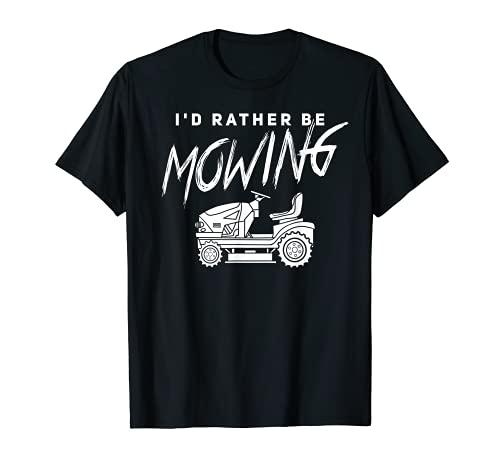 Tractor divertido del cortacésped del regalo de la segadora del césped Camiseta