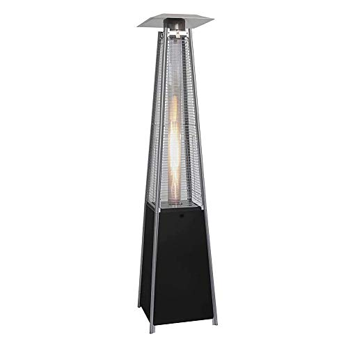 MoMi Patio Heater Furniture Quartz Glass Tube Real Flame 13KW Gas Garden Outdoor Patio Heater