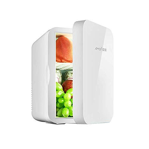 MQJ 6L Coche Refrigerador de un Solo Núcleo Refrigerador Compacto Refrigerador/Calentador Solo Puerta Electrónica Electrangre,Solo Coche