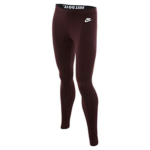 NIKE Sportswear Leg-A-See Women's Leggings Deep Burgundy ah2008-641 (Size XS)