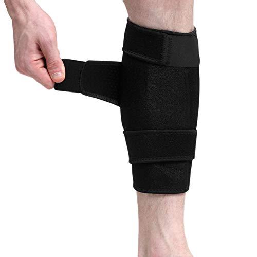 Atmungsaktiv Beinschützer Schienbeinschoner mit Klettverschluss Schienbeinschutz gegen Beinschmerzen Compression Leg für Erwachsene Dekompression Beinschutz Unterstützung Beinschoner für Training