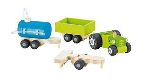 Sevi - 82508 - Modélisme - Voiture et Camion - Tracteur avec Remorque - 4 Pièces