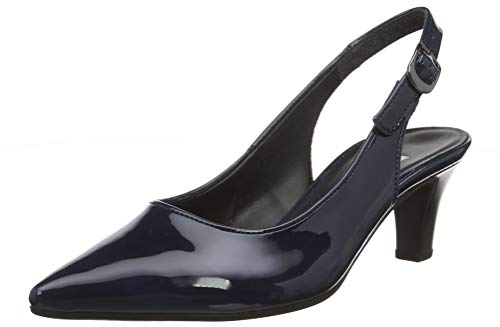 Gabor Shoes Damen Fashion Pumps, Blau (Marine 76), 36 EU