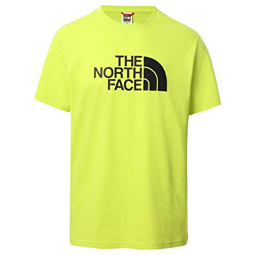 The North Face Men's S/S Easy Tee T-Shirt, S. Green, L Uomo
