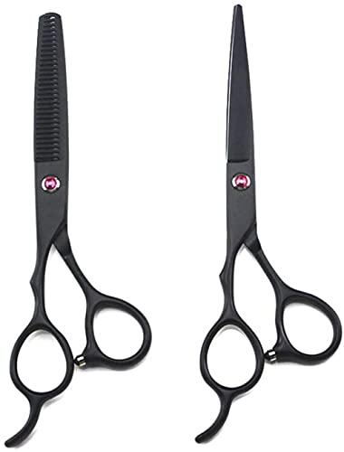 Profesional 5.5/6.0 pulgadas ZURDEED Peinado Set de peluquería Belleza Salón Scissors deslizantes Exclusivo Acero Frontier Menist