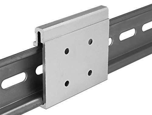 DeLOCK Aluminium Montageclip für Hutschiene