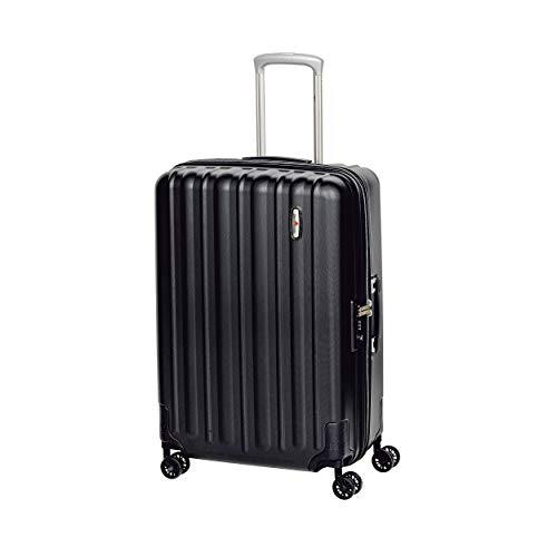 Hardware Profile Plus Volume 4-Rollen-Trolley M 65 cm Black graind