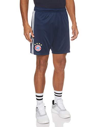 adidas Herren 18/19 FC Bayern Home Shorts, Collegiate Navy/White, S