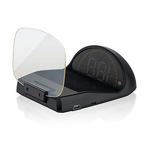 """Head Up Display per auto, iKiKin 3.5"""" HUD Display con OBD GPS Sistemi doppi, HUD dell'auto con funzioni di visualizzazione multiple e immagini chiare"""