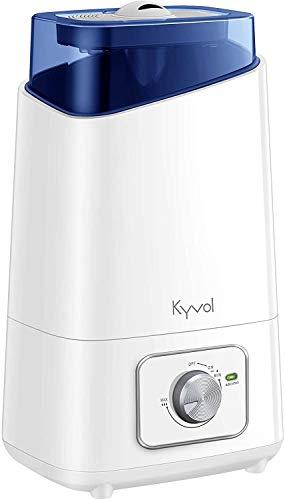 KYVOL HD3 Luftbefeuchter Ultraschall, 4.5L Humidifier, 26dB Leiser Raumluftbefeuchter, Luftbefeuchter für Schlafzimmer bis zu 40m², Humidifier mit 360°Drehbarer Dampfdüse, bis zu 75h Arbeitszeit
