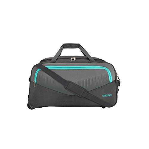 American Tourister Ohio Polyester 65 cms Grey Travel Duffle (FJ9 (0) 08 002)