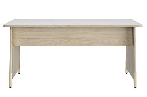 Plan de Travail Gautier - Bureau - Pieds Panneaux de la Collection ARTEFACT Dimensions L.160 x P.80 cm