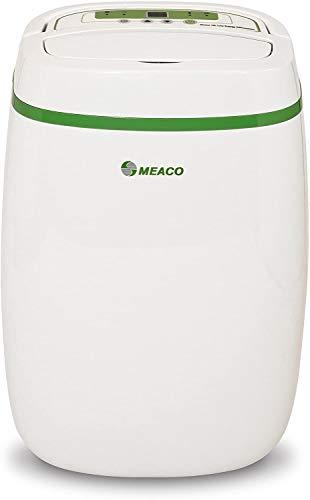 Meaco - Deshumidificador Platinum de bajo consumo de energía, 12 l, purificador con filtro HEPA, evita problemas de condensación, moho, función de secado de ropa