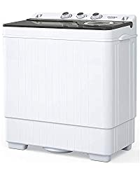 Image of KUPPET Compact Twin Tub...: Bestviewsreviews