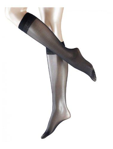 FALKE Vrouwen Matt Deluxe 20 DEN Knee-Highs - Sheer, Matt, Meerdere kleuren, UK maten 2.5-8 (EU 35-42), 1 Paar - Transparante, drukvrije top band, luxe mesh structuur, ideaal voor zakelijke looks