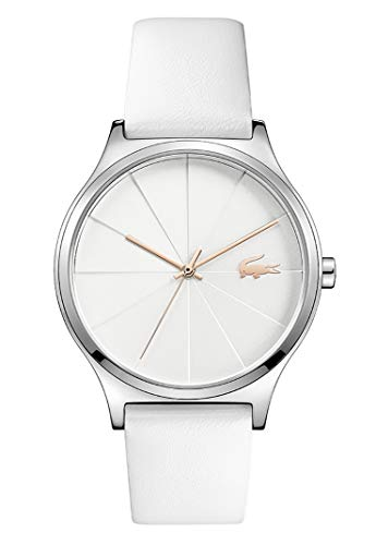 Lacoste Damen Analog Uhr Urban mit Leder Armband