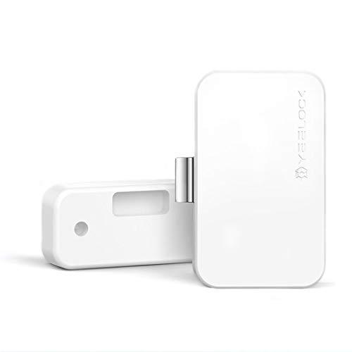 Yeelock Smart Smart Bluetooth-Schloss für Schubladen, Büro, Apotheke, Nachttisch, Kommode, Android Apple iOS