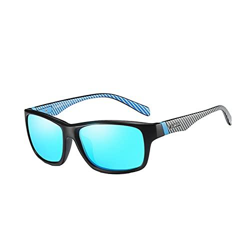 GUIH Gafas de sol polarizadas deportivas para hombres y mujeres, gafas de sol deportivas UV400 protección gafas de sol C1