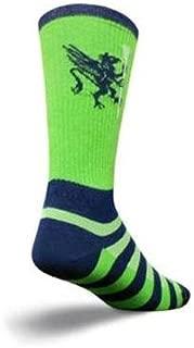 SockGuy Crew 8in LAX Griffen Lightweight Lacrosse Socks