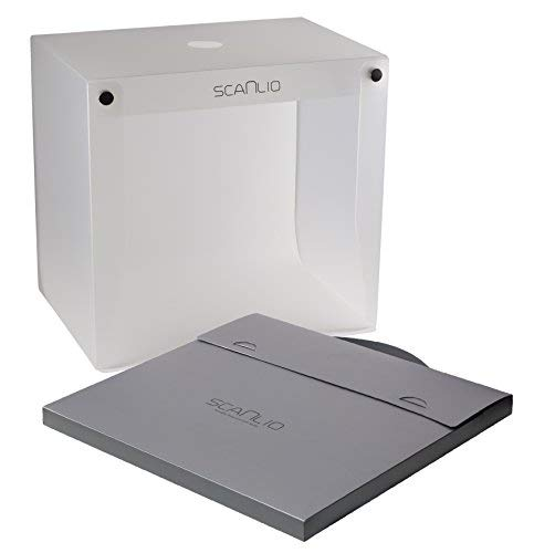SCANLIO mobiles Fotostudio & Faltbarer Scan-Stand