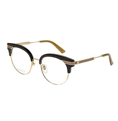 Gucci Occhiale da Vista GG0285O 001 nero montatura metallo taglia 50 mm occhiale donna