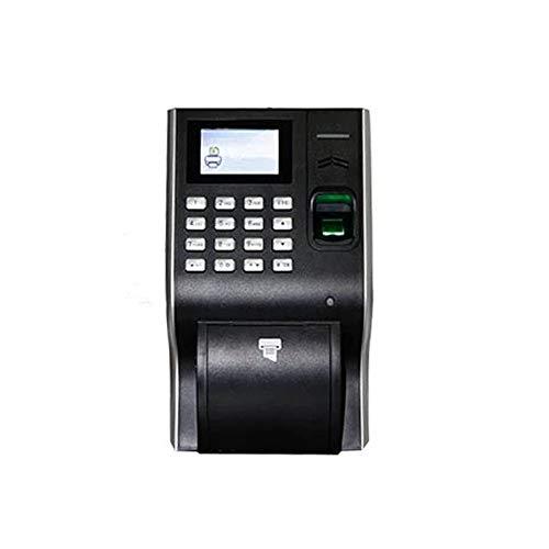 Zeitmaschine Biometrische Fingerabdruck-Anwesenheits-Thermodrucker 13,56 IC-Karten-Zeit Rekord Für Büro, Schule