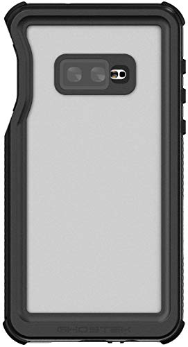 Ghostek Nautical Galaxy S10e Waterproof Case with Screen Protector Super Heavy Duty Protection Rugged Shockproof Full Body Underwater Watertight Seal Cover for 2019 Galaxy S10e (5.8 Inch) - (Black)