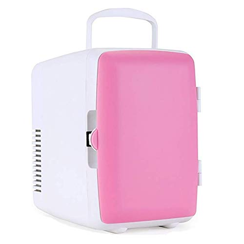 wangt mini-koelkast, 4 liter, compacte koelbox, draagbaar en stil, voor op reis, dual gebruik, 12 V car / 220 V Home