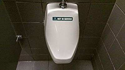 """Attractive JaniWrap""""Out of Order"""" Urinal/Toilet Covers - 32 Applications - Great Value 