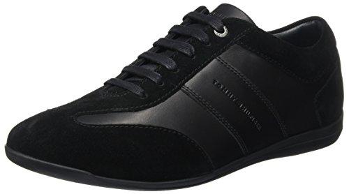 Tommy Hilfiger Herren O2285TIS 1C Sneakers, Schwarz, 42 EU