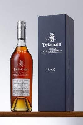 Delamain 1988 Millésimé Cognac Très Vieille Grande Champagne 0,7 Liter 40% Vol.