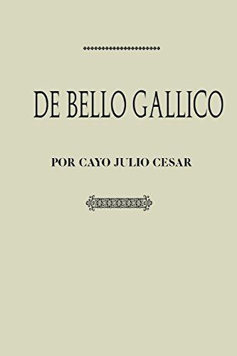 Antología Julio Cesar: De bello Gallico (con notas)