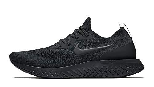 Nike Men's Epic React Flyknit Running Shoe Black/Black/Black 13 M US