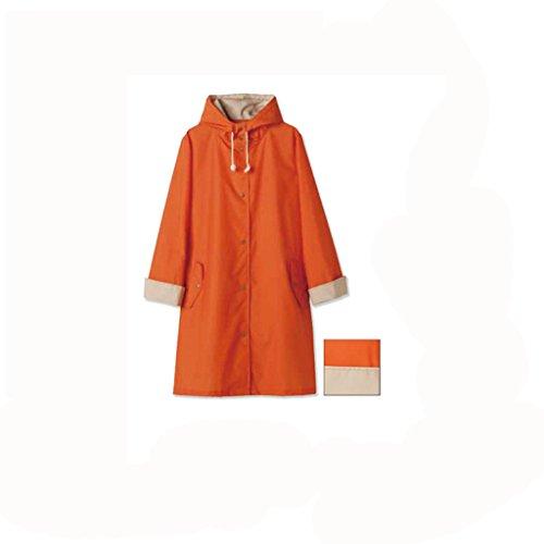 MXueei Regenjas Poncho Reizen Outdoor Leuke Licht Ademende Mode Jas Volwassen Wandelen Regenjas Poncho