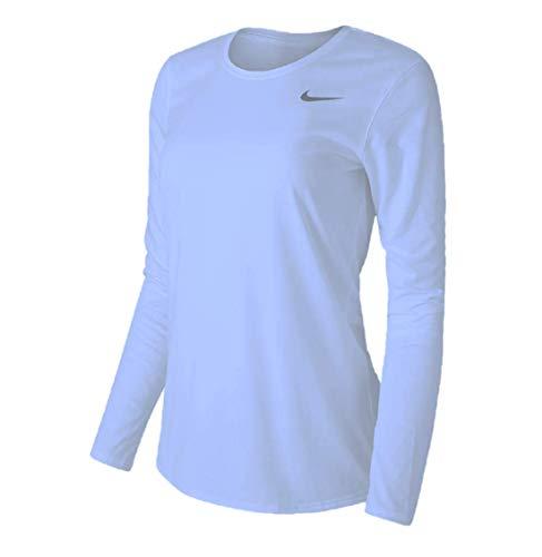 Nike Women's Legend L/S T SP20 TOP - Valor Blue/Valor Blue/Cool Grey - XL