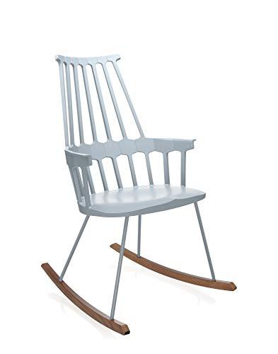 Kartell Comback Sessel, Esche, Polypropylen, grau, 59 x 99 x 58 cm