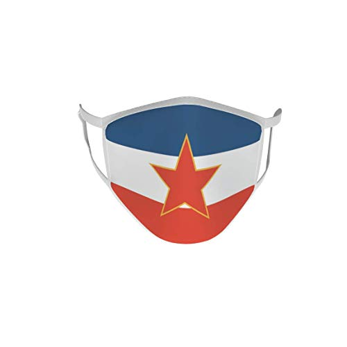 U24 Behelfsmaske Mund-Nasen-Schutz Stoffmaske Maske Jugoslawien alt