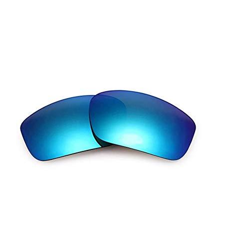 XDXART XDXART Polarisierte Ersatzgläser für Oakley OO9331 Straightlink (Blue)