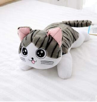 4 Arten 30 cm Katze Plüschtiere Chi Chi Katze Gefüllte Puppe Weiche Tier Puppen Käse Katze Gefüllte Spielzeug Puppen Kissen Kissen Für Kinder B 30 cm