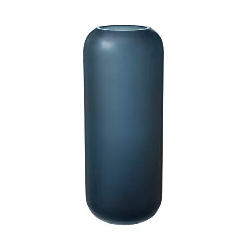 Blomus Vase-65813 Vase, Blau, H 30 xm, Ø 11, 5 cm