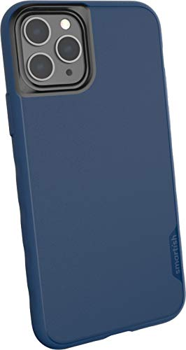 Smartish iPhone 11 Pro Slim Case - Kung Fu Grip [Lightweight + Protective] Thin Cover (Silk) - Blues on the Green