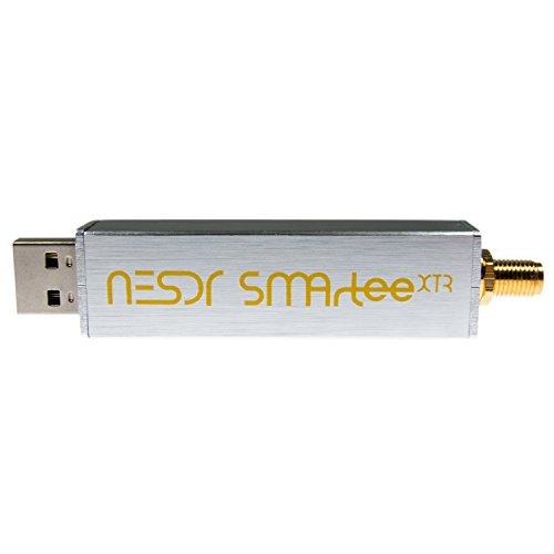 NooElec NESDR SMArTee XTR SDR - Premium RTL-SDR mit erweitertem Tuning Sortiment, Aluminiumgehäuse, Bias Tee, 0.5PPM TCXO, SMA Input. RTL2832U & E4000-basierte Software Defined Radio