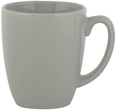 Livingware 11 oz. Mug [Set of 2] Color: Gray