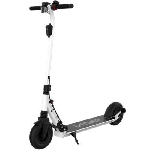 Denver SCO-80130 Elektro-Scooter, Unisex, Erwachsene, Weiß, 300 W