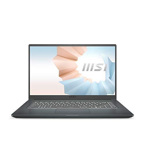MSI Modern 15 A10M-602IT, Notebook 15  FHD, Intel Core I5-10210U, Grafica Integrata, Ram 8GB DDR4, SSD M.2 PCIe 512GB, Win 10 Home [Layout & Garanzia ITA]
