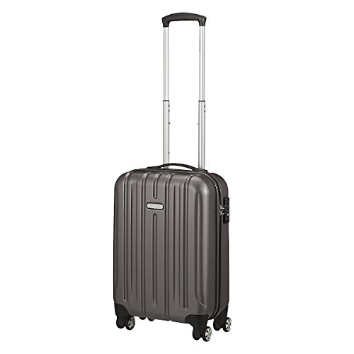 Trolley cabina KINETIC 4 ruote cm 55x35x20 lt.32 kg.2,50 colore antracite
