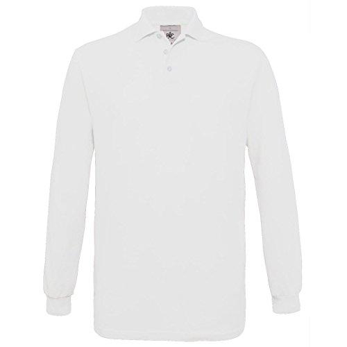 B & C Collection Safran Manches Longues - Blanc -